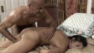 A Man With A Maid Horny Tight pussy Fuck