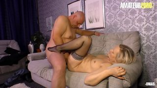 AMATEUR EURO – German Mature Wife Hard Pounded By Horny Chubby Husband