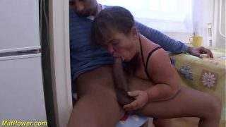 busty mature midget fucked by big cock