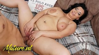 Busty Mature Seduced The Boy Next Door For Some Afternoon Fun