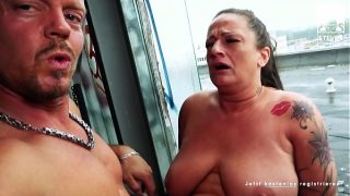 Filthy fuck date for needy Mature  Adrienne in a filthy place