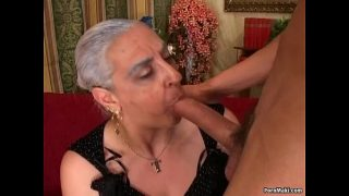 Granny First Huge Cock Anal,double pleasure