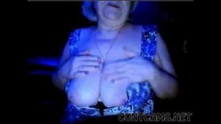 Granny Flashes Tits on Webcam – More at cuntcams.net