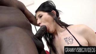 Granny Vs BBC – Mature Slut Niky Has Her Ass Pumped Full of Black Seed
