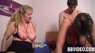 Mature german whores fuck a stud