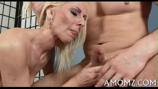 Older babe bounces on one-eyed monster,amazing sex games with blonde babe
