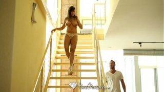 PureMature – Big breasted cougar Lisa Ann fucks a y. dick