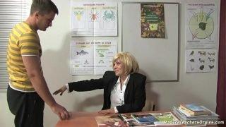 Russian mature teacher 9 – Kayla (break)